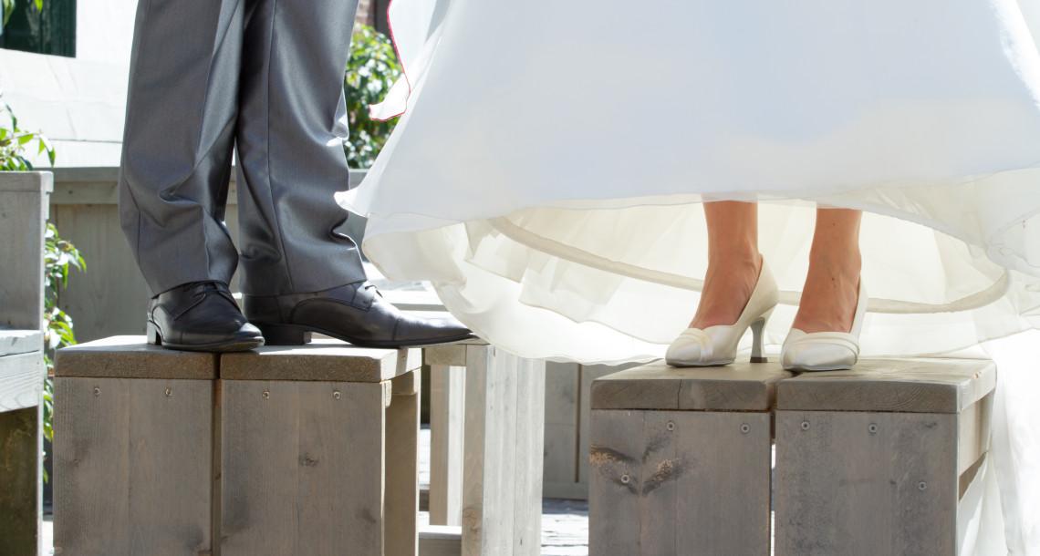 Bruiloft schoenen