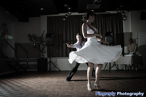 Een openingsdans door Dance Fit