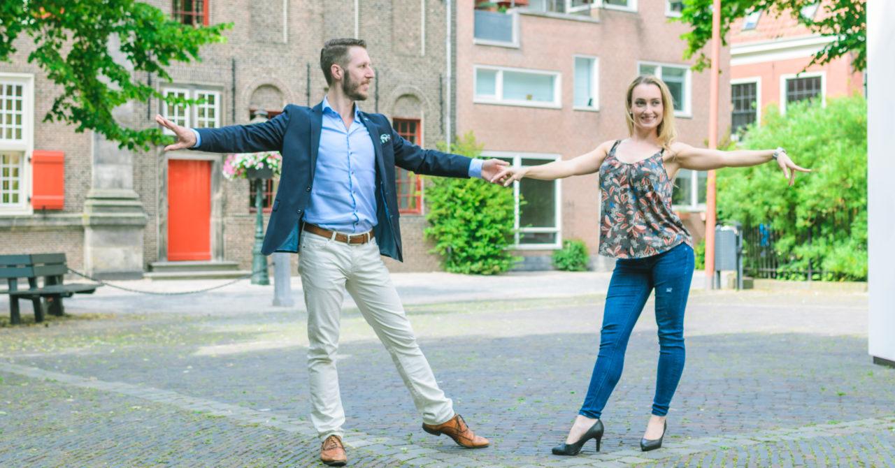 Stijldansen in Leiden - Casual Fan position Robin en Patty 2017