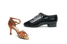 Dansschoenen stijldansen