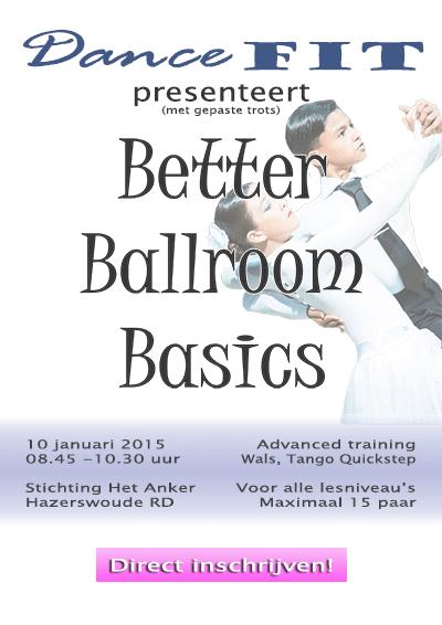 Workshop stijldansen - Better Ballroom Basics