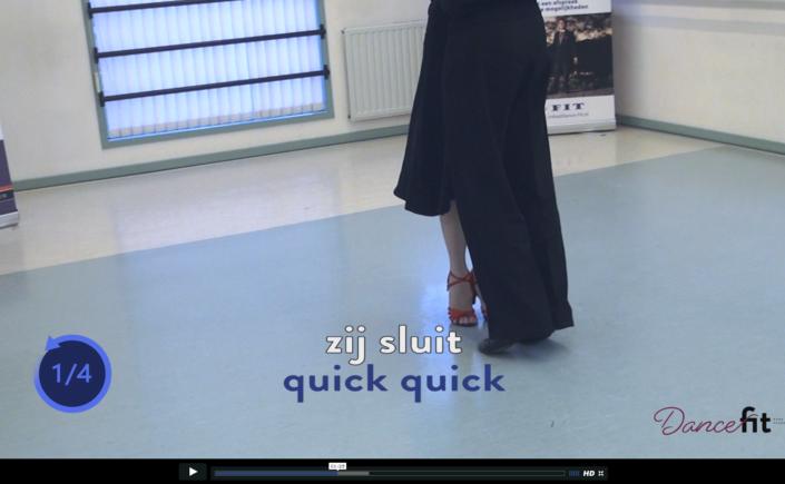 Online dansles nu in een volledige leeromgeving