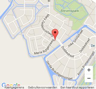 De dansschool van Leiden op Google Maps