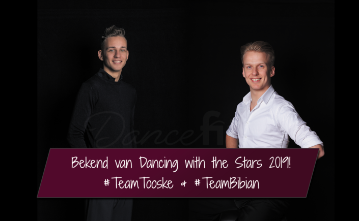 Dancing with the stars 2019 Joost en Glenn op RTL4
