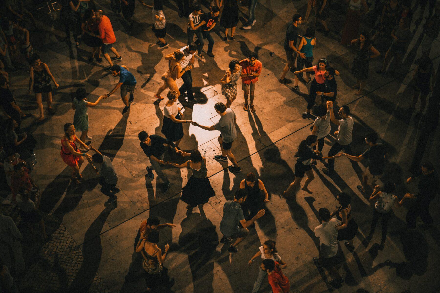 Dansschool Dance Fit wisselen van danspartner bij stijldansen