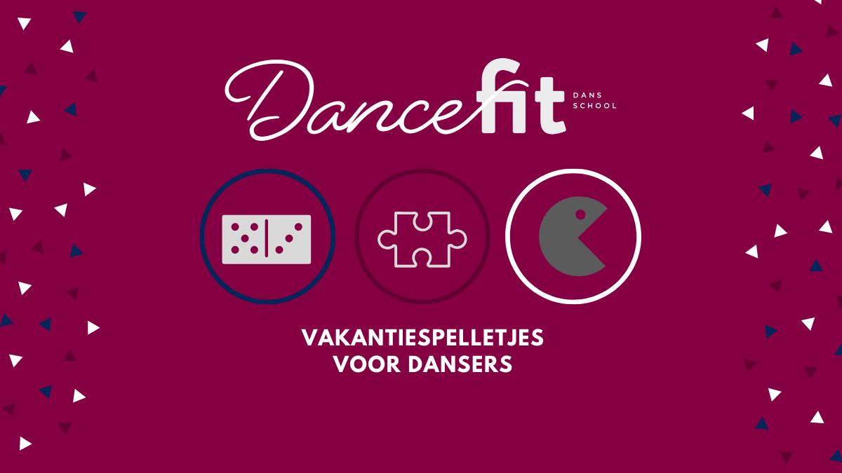 Vakantiespelletjes voor dansers