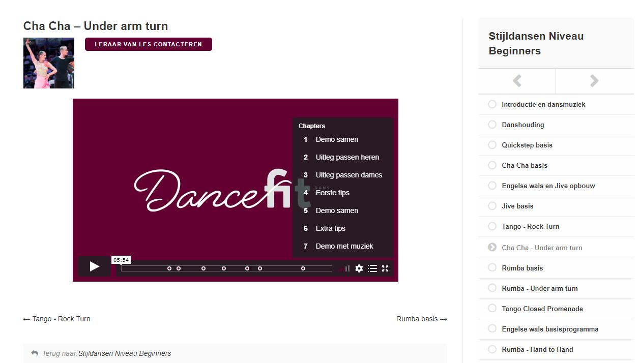 Online-dansles-stijldansen-bij-Dansschool-Dance-Fit-Snapshot-platform